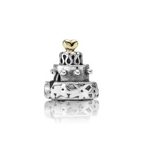Authentic Pandora Tiered Cake Charm